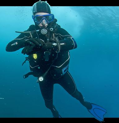 autonomous diver enjoyment