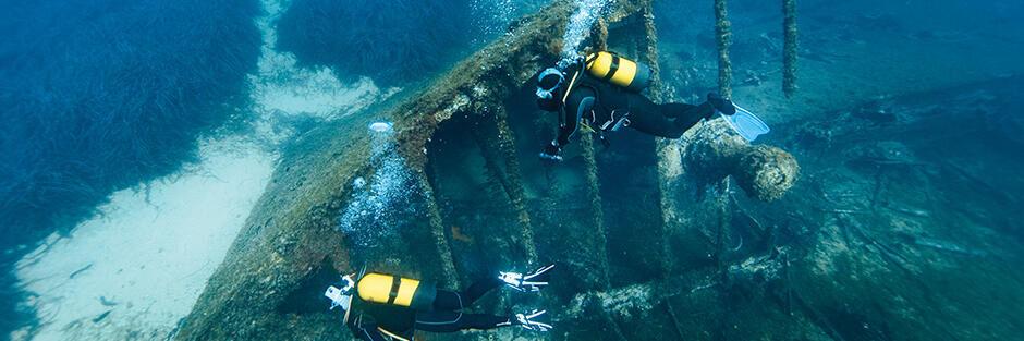 conseil lexique plongée sous marine milieu aquatique épave méditerranée le spahis