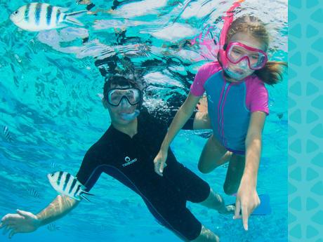 buyancy snorkeling