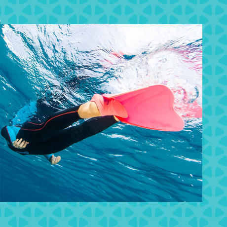 tips how to choose subea snorkelling set fins