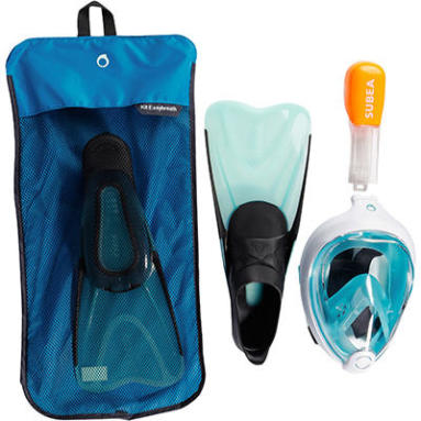 tips how to choose subea snorkelling set easybreath fins
