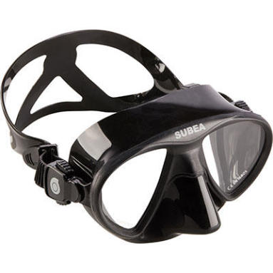 how to choose spearfishing free diving mask subea