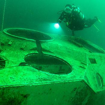 découvrir la plongée sur épave subea la gombe
