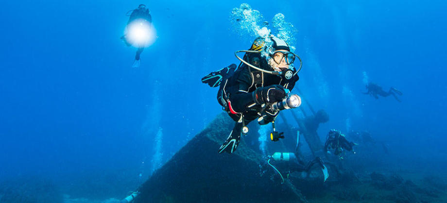 WHY DIVE ON A WRECK?