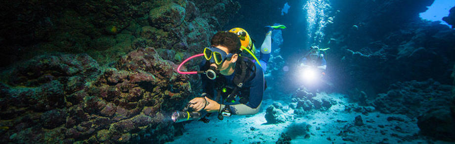 subea how to choose scuba diving lighting