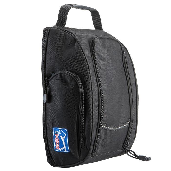 Pack met onderhoudsmateriaal voor golfschoenen zwart - 148176