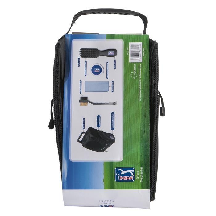 Pack met onderhoudsmateriaal voor golfschoenen zwart - 148191