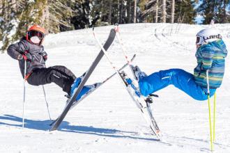 faire aimer ski enfant teaser