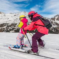Faire découvrir ski enfant teaser