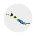 banner materiel ski kids