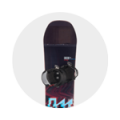 banner snowboard adulte