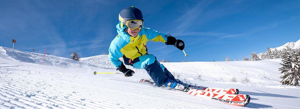 Comment choisir les skis de votre enfant - titre