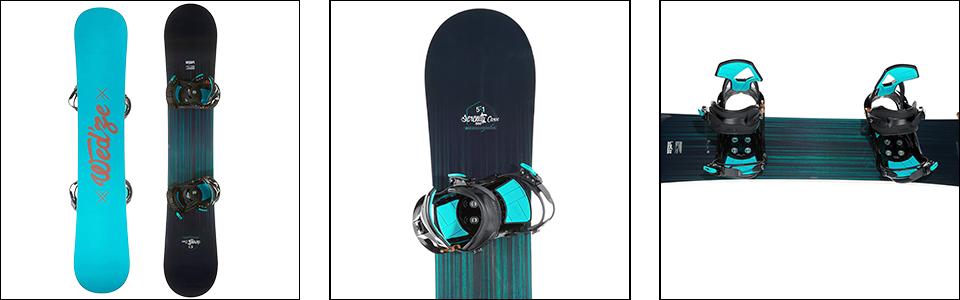 caractéristiques techniques d'un snowboard - titre