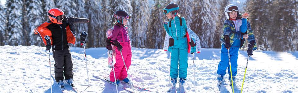 habiller enfant ski - titre