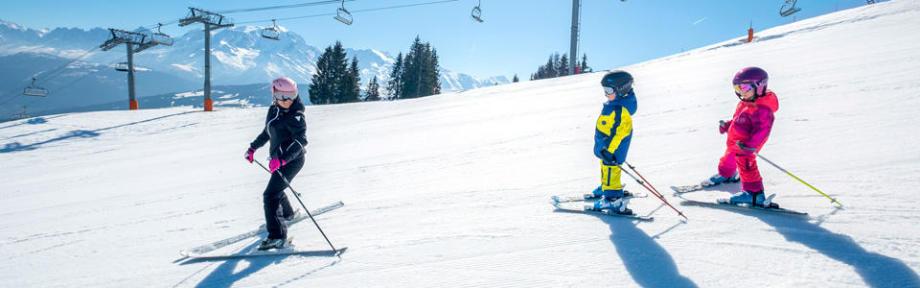 faire decouvrir ski enfant - home