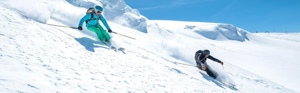 La montagne en Freeride - snowboard