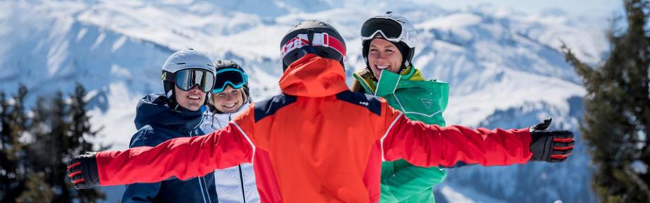 Le vocabulaire sur les pistes de ski - titre