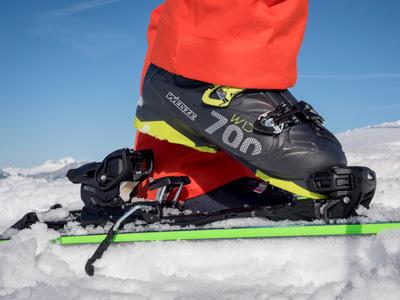 Bien choisir ski - fixations