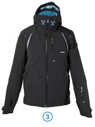 Bien s'habiller pour la pratique des sports d'hiver - veste