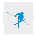 Bien skier la neige de printemps - freestyle