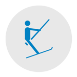 The ski lifts