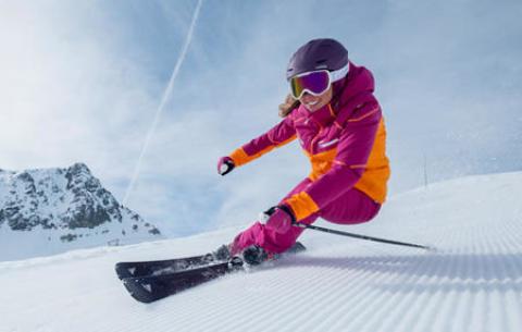 schema ski virage coupe