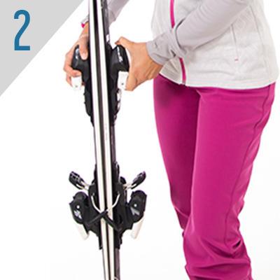 comment accrocher ses skis ensemble les astuces de wedze