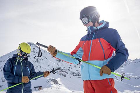 CT - Bonne taille de ski et de baton - titre