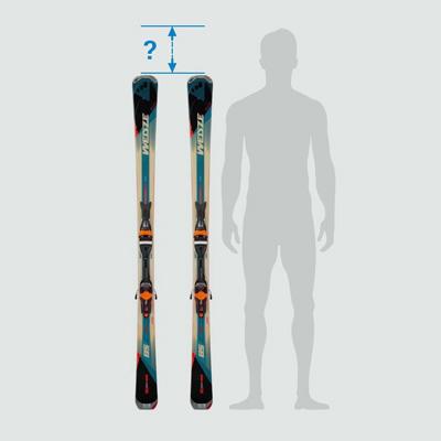 Bonne taille de ski et de batons - ski