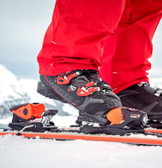 bien régler ses fixations de ski - fixations