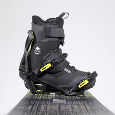 bien régler ses fixations de snowboard - angle