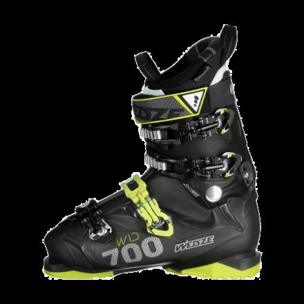 bien serrer les crochets des chaussures de ski - chaussure