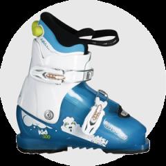 Comment choisir les skis de votre enfant - chaussures