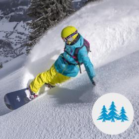 choisir sa pratique de snowboard - freeride