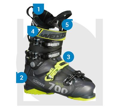 ComHommes t chaussures choisir ses chaussures t de ski Wedze 5f0fcf