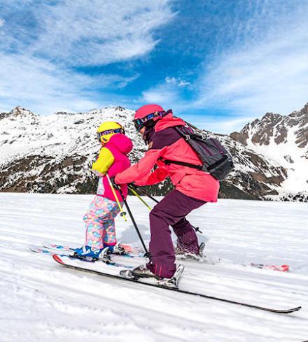 faire découvrir le ski aux enfants - media 1