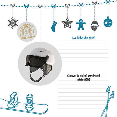 les idées cadeau wed'ze pour un Noël tout schuss
