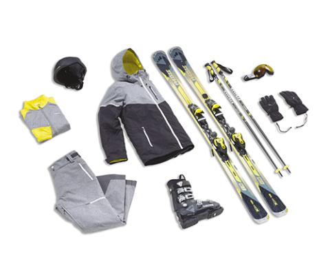 Ski tout terrain