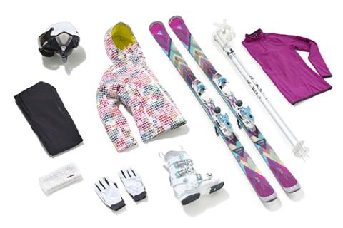 collection ski tout terrain femme
