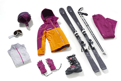 collection ski piste carving femme