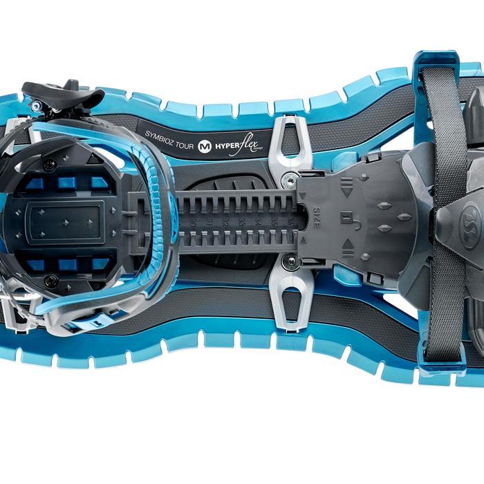 Raquettes à neige grands tamis TSL SYMBIOZ Access bleu