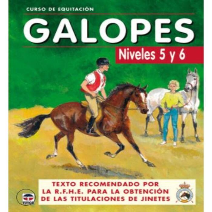 SP Libro Galopes Niveles 5 y 6 Curso de equitación