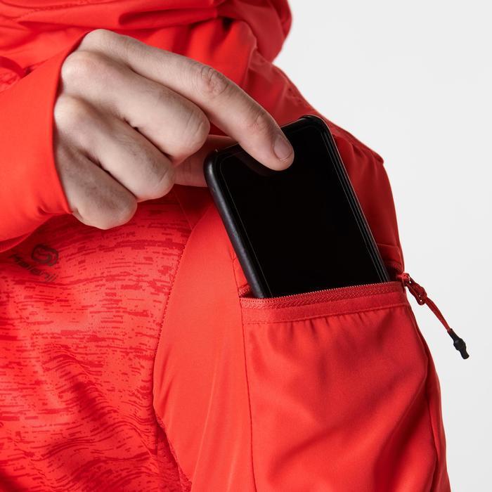 Hardloopjack voor heren Run Warm+ rood