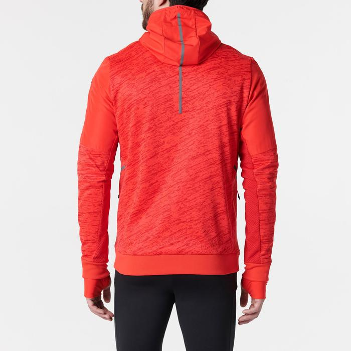 Laufjacke Run Warm+ Pocket Herren rot