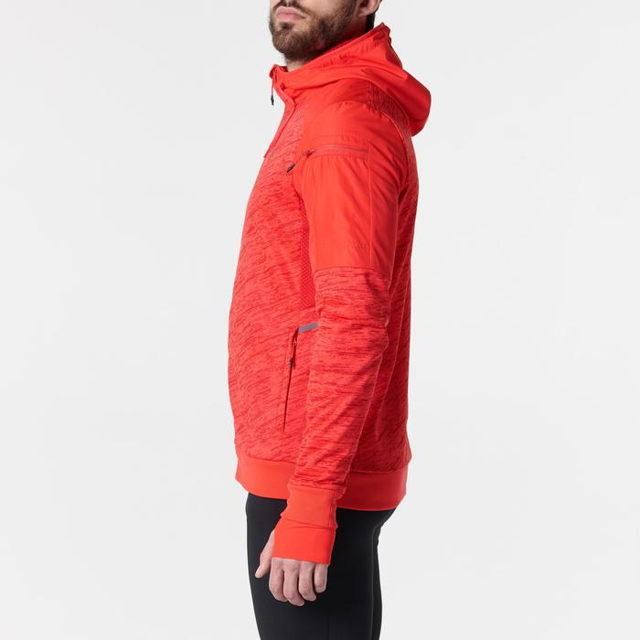 VESTE RUNNING HOMME RUN WARM+ ROUGE