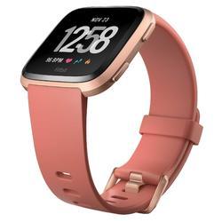 Reloj GPS Pulsómetro Muñeca Música Multideporte Fitbit Versa Naranja Conectado