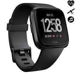 Reloj GPS Pulsómetro Muñeca Música Multideporte Fitbit Versa Negro Conectado