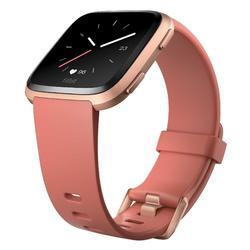 Smartwatch mit Pulsmesser am Handgelenk Versa schwarz