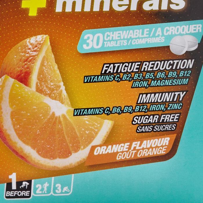 Complément alimentaire comprimés VITAMINES et MINERAUX orange x30 - 1483353