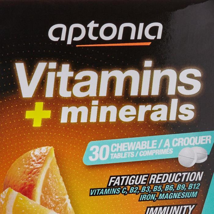 Complément alimentaire comprimés VITAMINES et MINERAUX orange x30 - 1483381